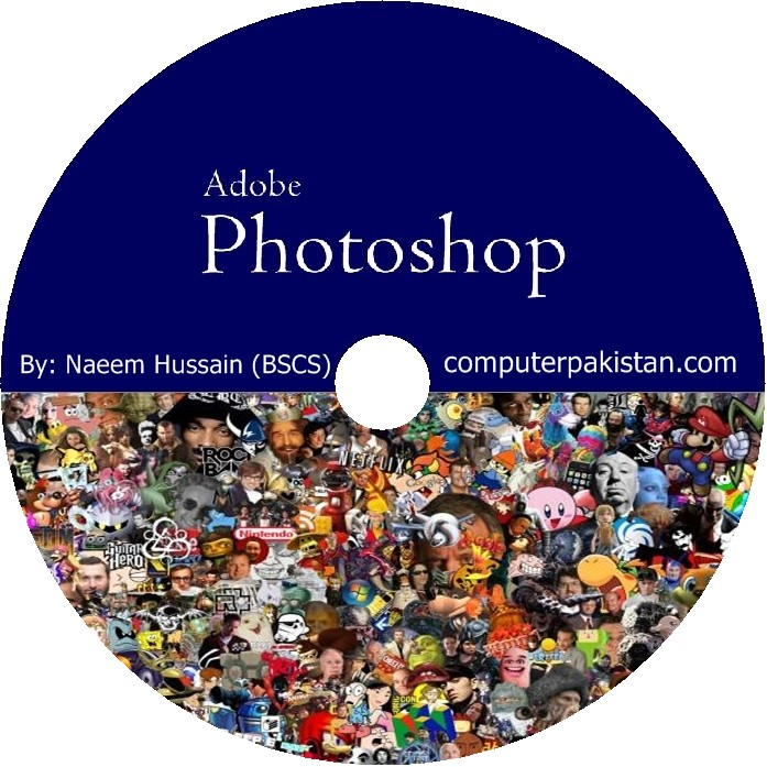 DVD of the Adobe Photoshop easy to understand with screenshot